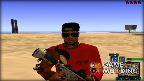 C-HUD Hapaxe v8 for GTA San Andreas