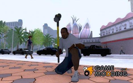 Кувалда из GTA IV для GTA San Andreas