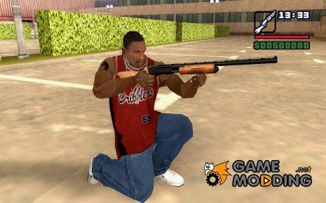 12 Калиберное полуавтоматическое ружье for GTA San Andreas