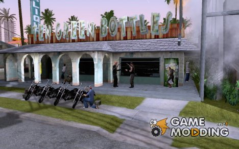 Mod Beber Cerveja V2 for GTA San Andreas