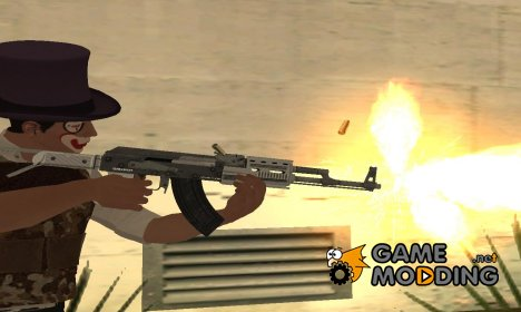 GTA V Assault Rifle V2 - Misterix 4 Weapons for GTA San Andreas