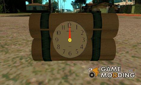 Динамит с рабочим стрелочным таймером for GTA San Andreas