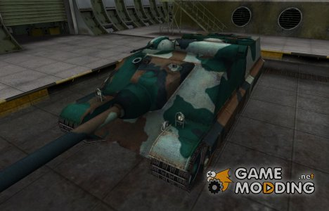 Французкий синеватый скин для AMX-50 Foch (155) для World of Tanks