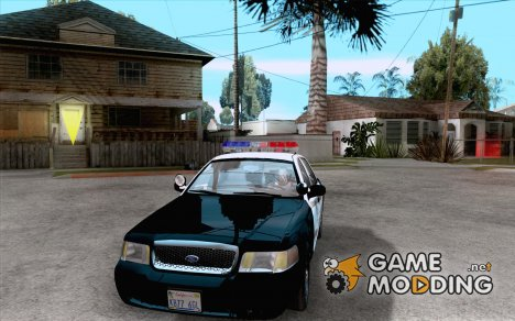 Ford Crown Victoria San Andreas State Patrol for GTA San Andreas