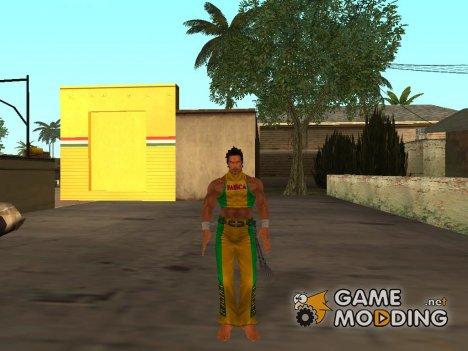 Tekken Tag Tournament Eddy Skin for GTA San Andreas