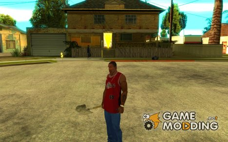 Метание лопаты для GTA San Andreas