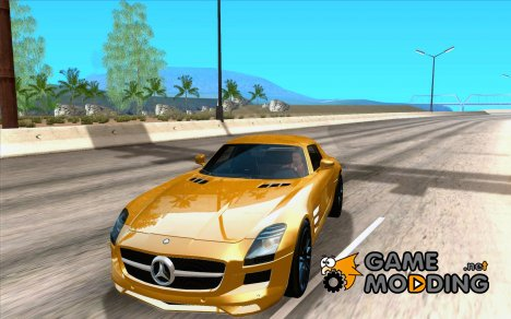 [DOUBLE]   Mercedes-Benz SLS AMG TT Black Revel для GTA San Andreas
