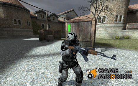 Winter Camo GSG9 для Counter-Strike Source
