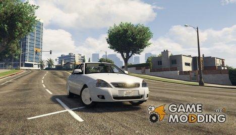 Lada Priora v2.3 for GTA 5