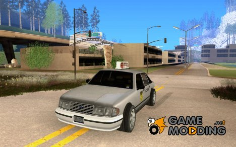 HD taxi SA for GTA San Andreas