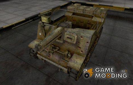 Исторический камуфляж T82 for World of Tanks