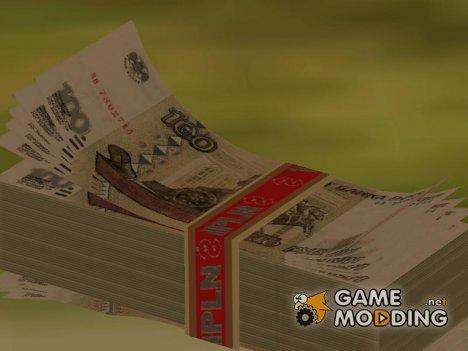 Новые текстуры денег для GTA San Andreas