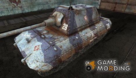 Шкурка для E-100 (по Вархаммеру) for World of Tanks