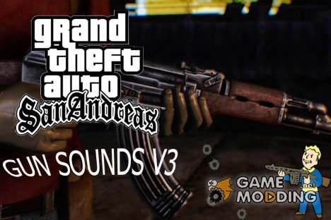 GUN Sounds v3 for GTA San Andreas