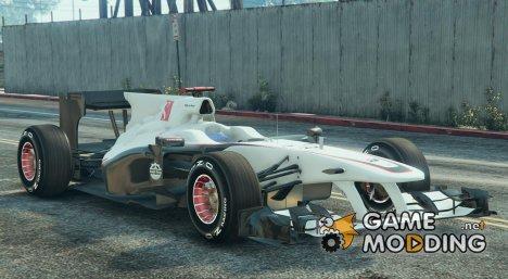 Sauber F1 for GTA 5