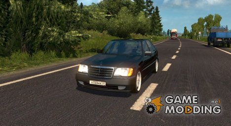 Mercedes-Benz S600 for Euro Truck Simulator 2