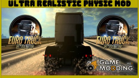 Реалистичная физика 4.2 for Euro Truck Simulator 2