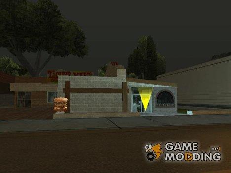 Доступ к скрытым интерьерам (новая версия) для GTA San Andreas