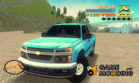 Chevrolet Colorado Extended Cab for GTA 3
