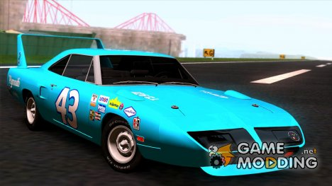 Plymouth Roadrunner Superbird RM23 1970 for GTA San Andreas