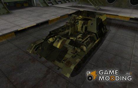 Камуфлированный скин для СУ-85Б для World of Tanks