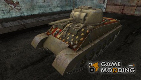 Шкурка для M4A2E4 for World of Tanks