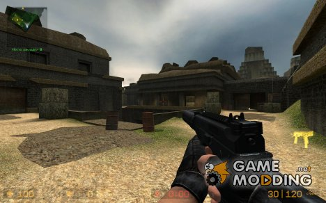 Soldier11's MP9 Animations for Counter-Strike Source