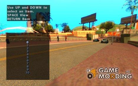 Управление трафиком for GTA San Andreas