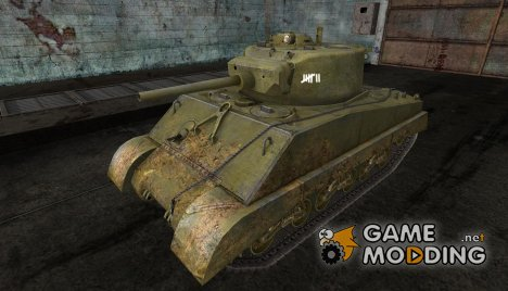 Шкурка для Sherman Jumbo для World of Tanks