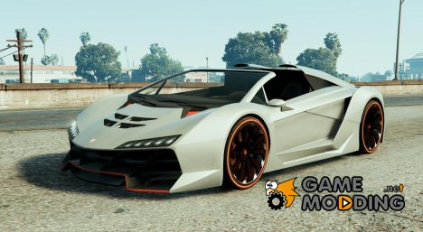 Zentorno decapotable (Lamborghini) 2015 for GTA 5