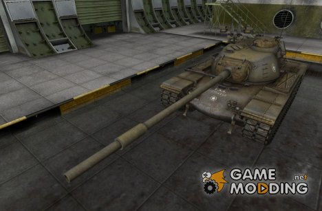 Remodel T110E5 для World of Tanks
