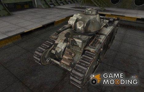 Шкурка для немецкого танка PzKpfw B2 740 (f) для World of Tanks