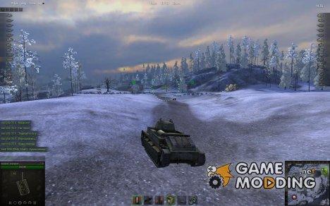 Аркадный прицел от marsoff для World of Tanks