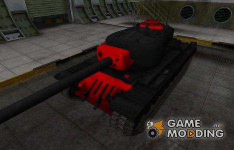 Черно-красные зоны пробития T34 for World of Tanks