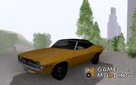 Plymouth Cuda Ragtop '70 v1.01 for GTA San Andreas
