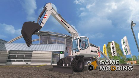 Экскаватор Terex TW 170 для Farming Simulator 2015