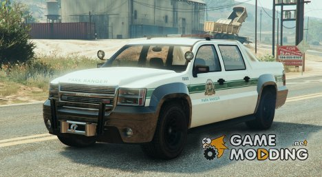 Police Granger Truck 0.1 for GTA 5