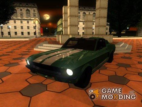 Ford Mustang GT fnf 3 для GTA San Andreas