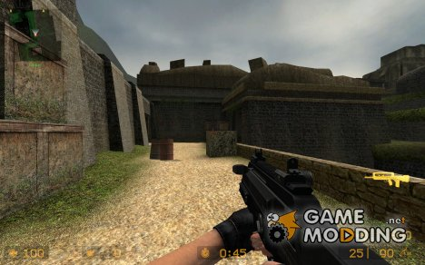 Prototype 3 Assault Rifle for Counter-Strike Source