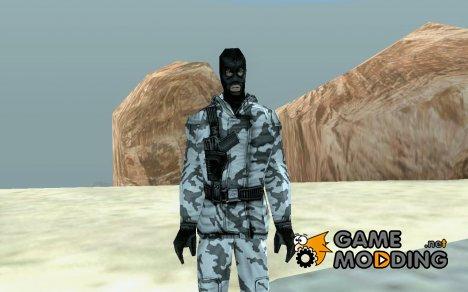 Арктический Мститель (персонаж для GTA SA) для GTA San Andreas