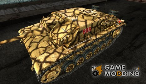 Шкурка для StuG III №51 for World of Tanks