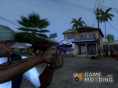Револьвер из игры 25 to life для GTA San Andreas