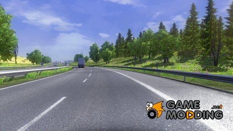 Весенний мод для Euro Truck Simulator 2