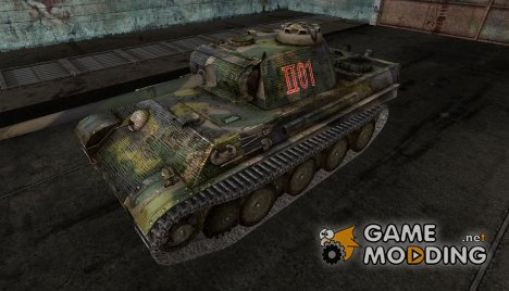 PzKpfw V Panther 15 for World of Tanks