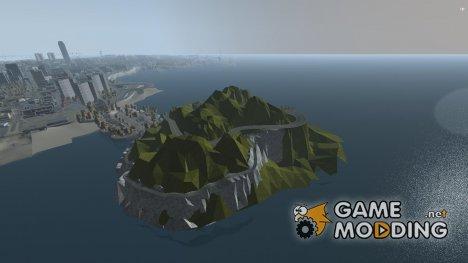 Rocky Drift Island for GTA 4