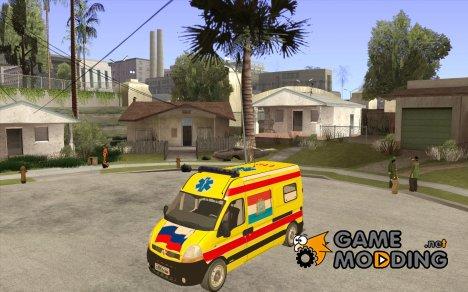 Renault Master Скорая Самары for GTA San Andreas