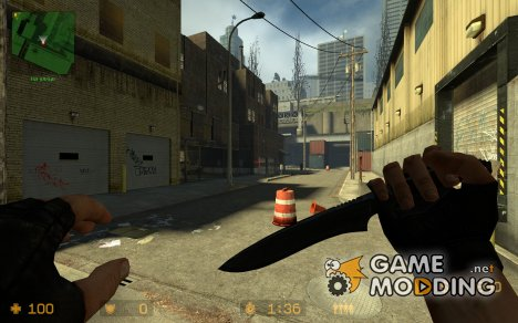 Tactical Knife w. custom anims for Counter-Strike Source