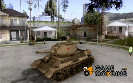 Танк T-34-85 for GTA San Andreas
