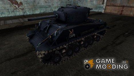 Шкурка для M4A3E8 Sherman для World of Tanks