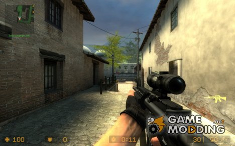 M4A2 V2 для Counter-Strike Source